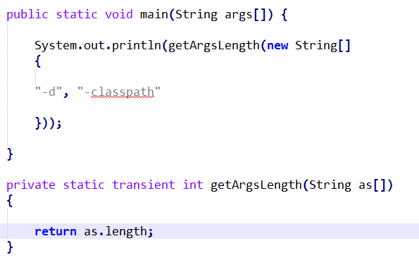 可变参数的JVM实现