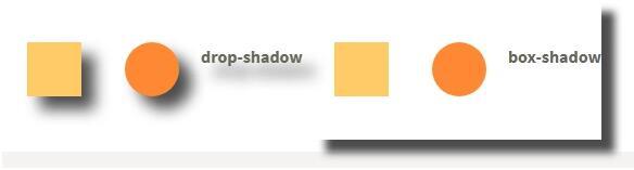 web前端入门到实战:CSS阴影效果的比较 drop-Shadow与box-Shadow