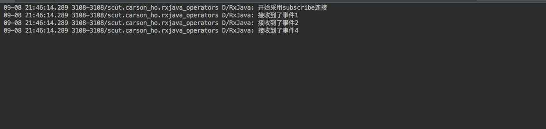 新的Observable发送Complete 事件 = 原始Observable停止发送 & 不重新发送