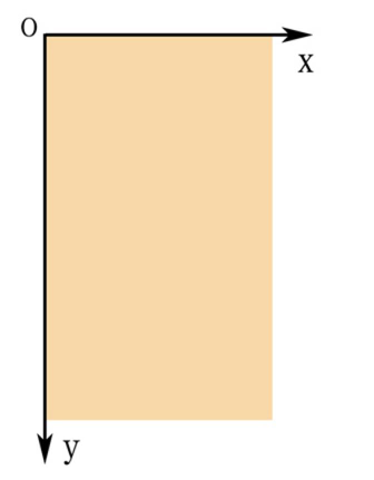 屏幕坐标系