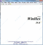 WinHex v19.8SR7绿色中文特别版