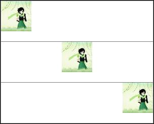 CSS图片水平对齐