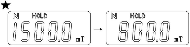 GM505高斯计使用方法图解(图11)