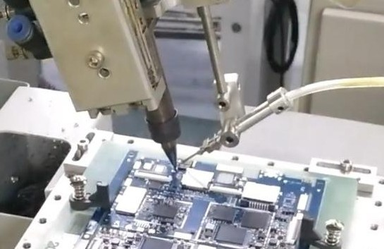 PCB板自动焊锡机