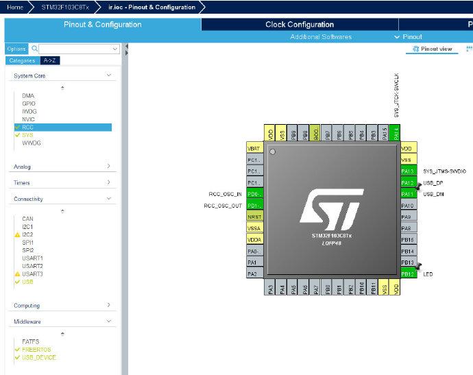 STM32配置图
