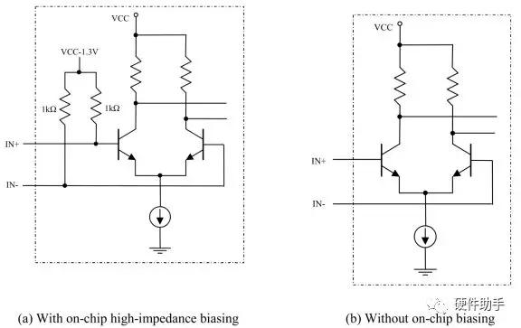PECL输入电路结构