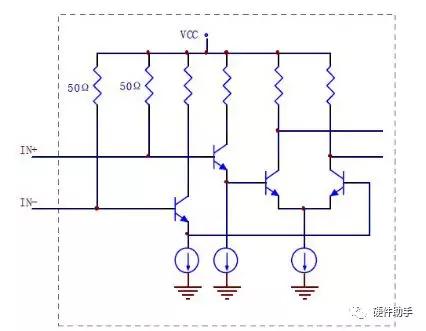 CML输入电路结构