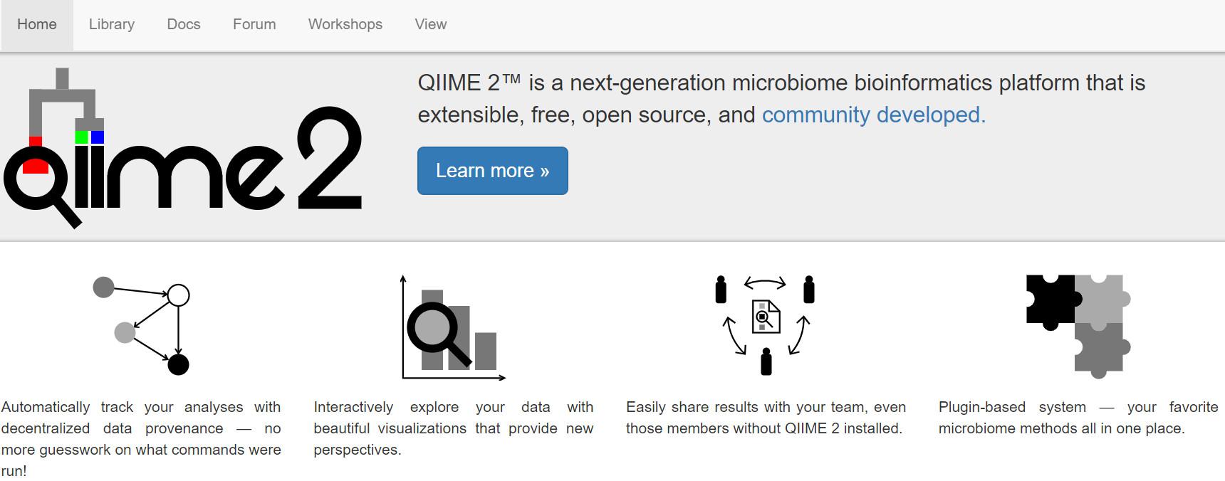 扩增子分析QIIME 2用户文档  1简介和安装(2019 7) - 刘永鑫的