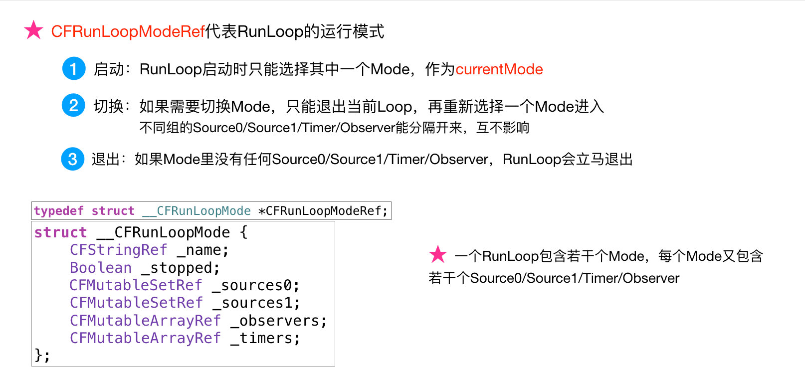 CFRunLoopModeRef
