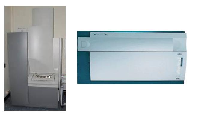 AB 4700和Bruker Ultraflex质谱仪
