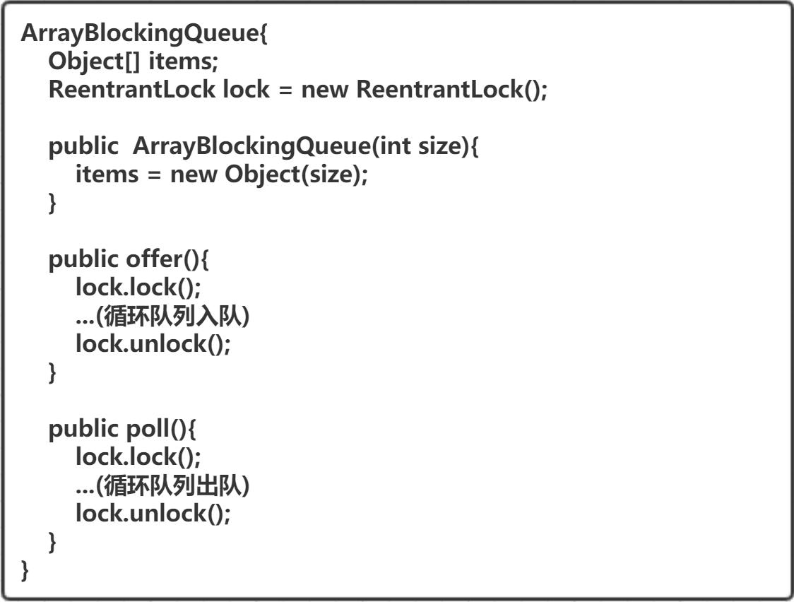 ArrayBlockingQueue源码大体结构