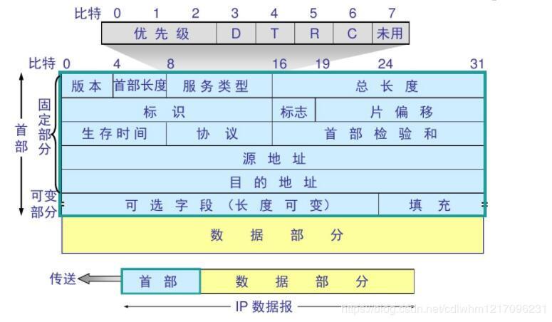 IP数据报格式