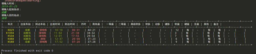 Python爬虫:12306抢票,开源代码!