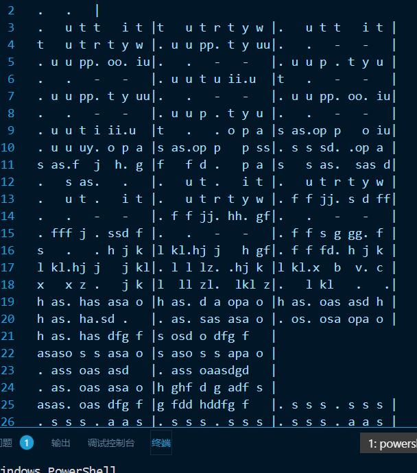 图为在vscode中打开的样子(乐曲为平凡之路)
