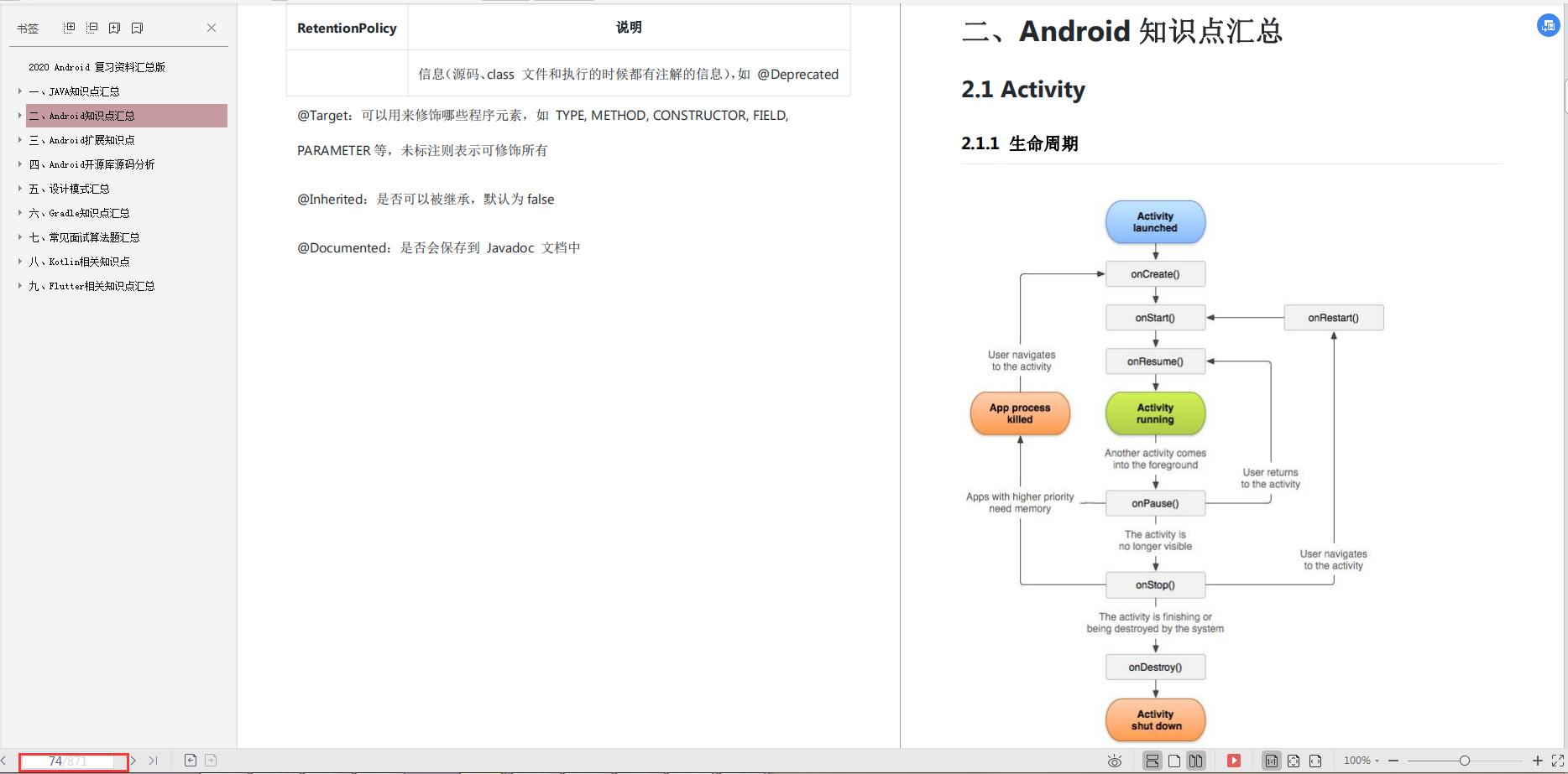 第二章Android知识点汇总