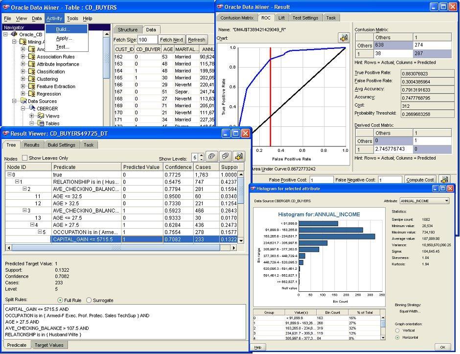 Oracle数据挖掘(ODM