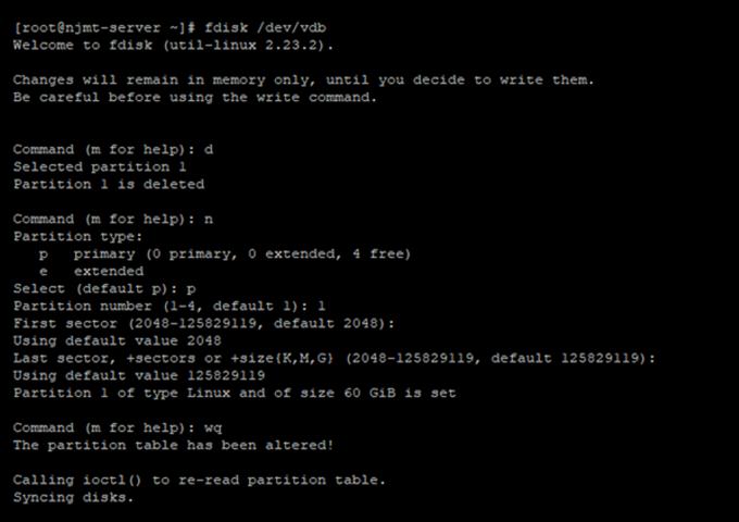 真正可用的宝塔数据盘扩容方法