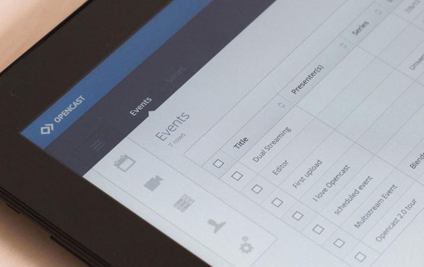 Opencast视频流服务器,用于录制和分发事件视频