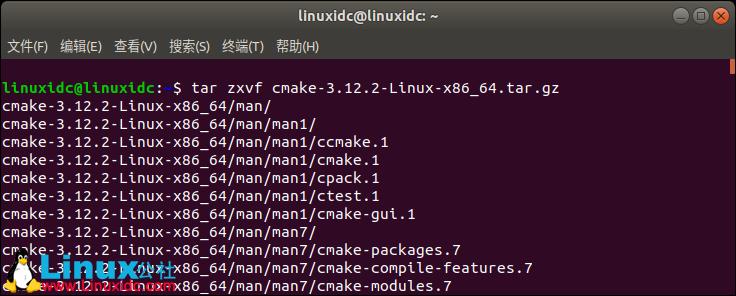 Ubuntu 18.04下安装最新CMake及CMake简单使用