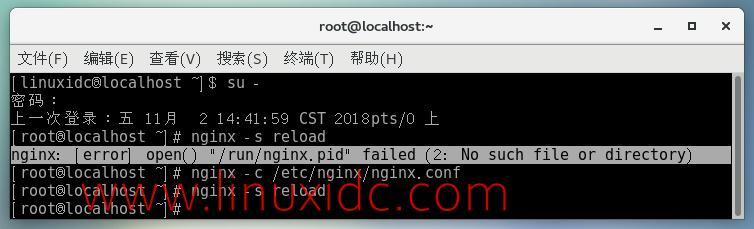 """nginx: [error] open() """"/run/nginx.pid"""" failed (2:"""