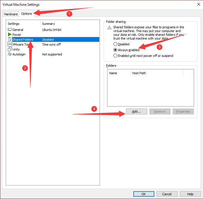 VMware_Options