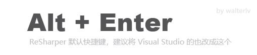 Alt + Enter