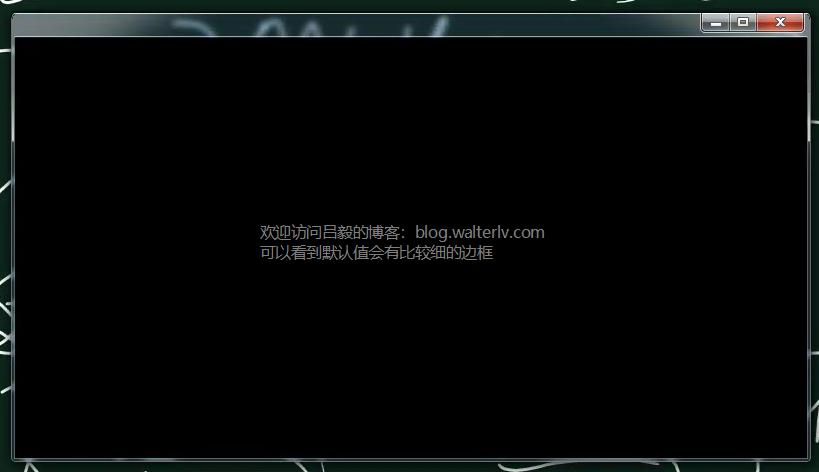 with WindowChrome in Windows 7