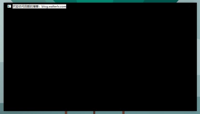 without WindowChrome in Windows 10 - default gradient color