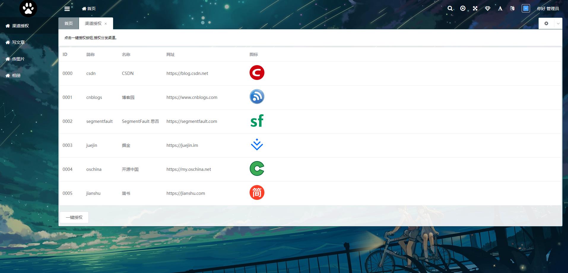 一键发布平台1.0.0-授权页.png