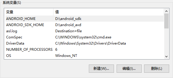 Emulator: PANIC: Cannot find AVD system path. Please define ANDROID_SDK_ROOT