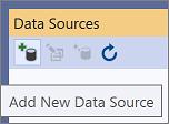 在 Visual Studio 中添加新数据源