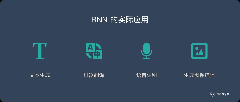 RNN的应用和使用场景