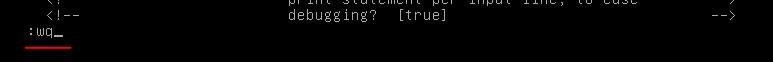 修改linux的文件时,如何快速找到要修改的内容