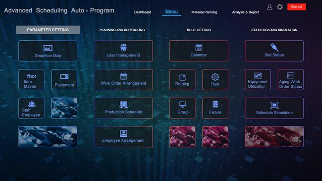 MES系统与APS生产排程集成,实现生产流程简化、提升生产效率