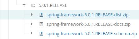 spring各个版本开发包下载