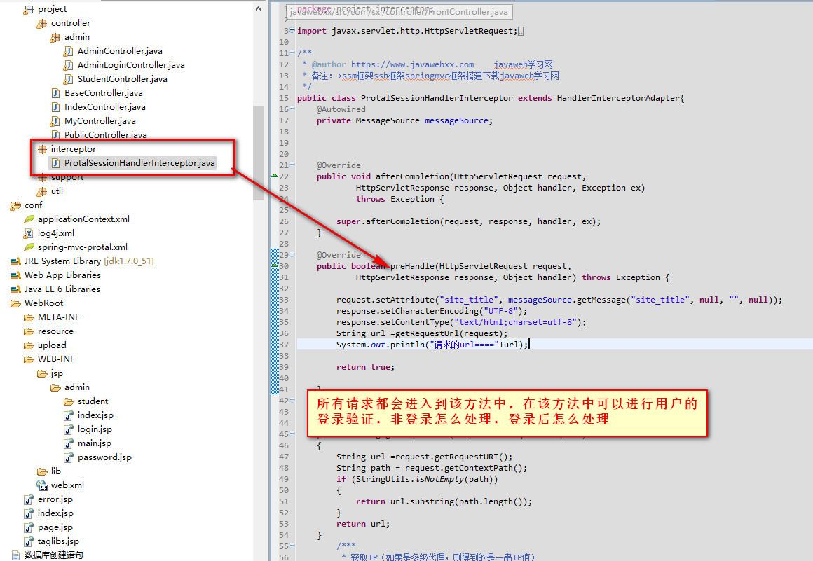 springmvc框架是如何运行访问的详细说明流程图2