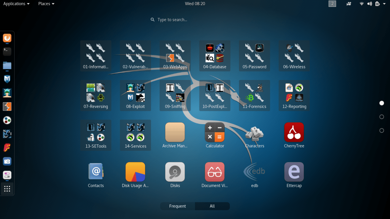 Kali Linux 入侵和测试工具