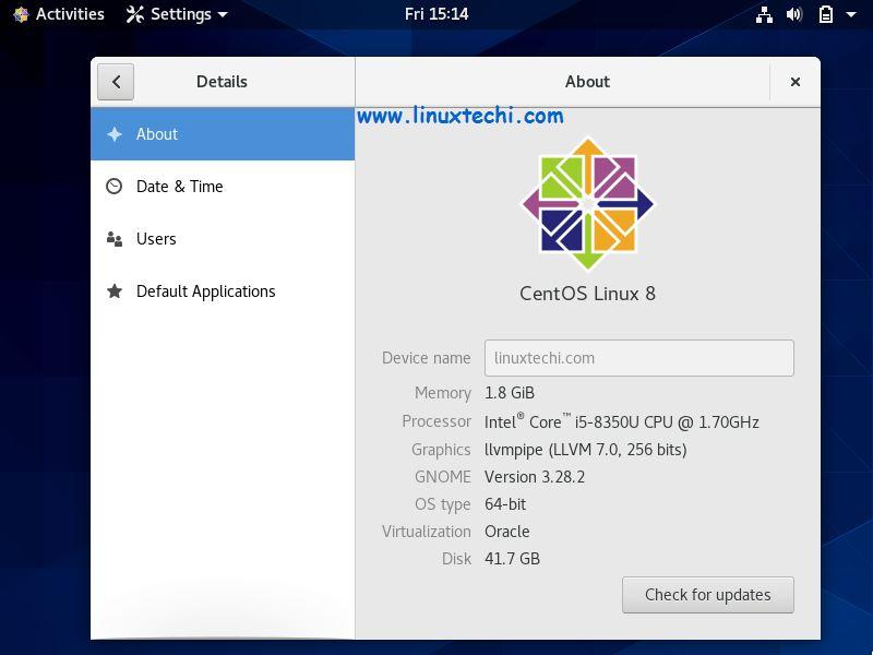 Desktop-Screen-CentOS8