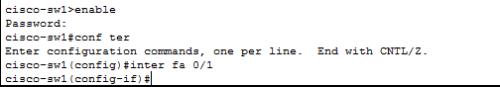 思科交换机常用命令及配置