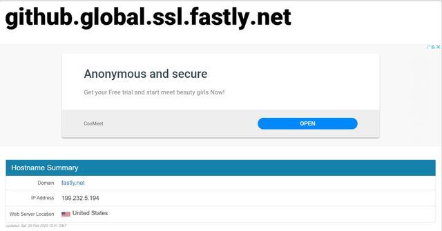 《两分钟使国内访问GitHub提速度至3MB/S》