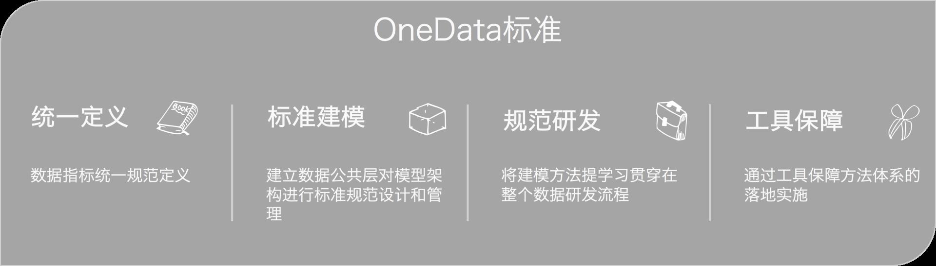图1 OneData标准