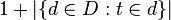 idf公式分母