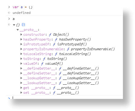 Object原型方法
