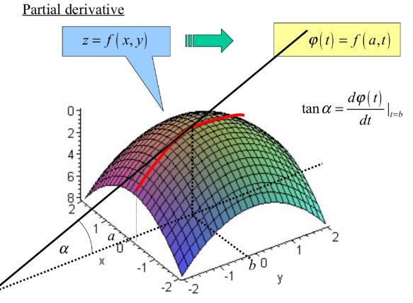 Partial derivative