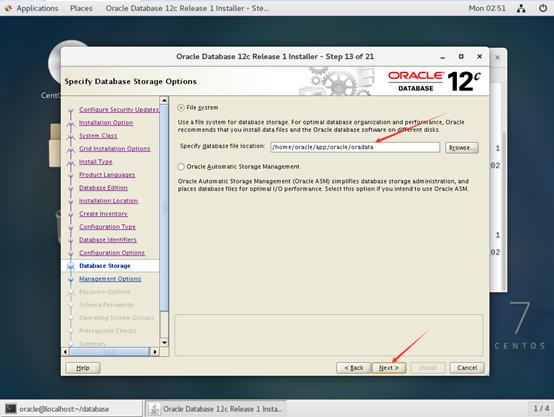Centos7安装Oracle-12c