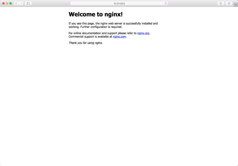 浏览器成功访问服务器的 Nginx